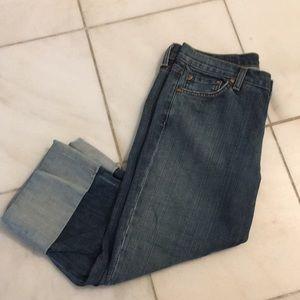 David Kahn cropped jeans size 29.